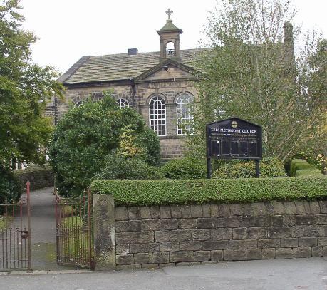 Outside Leeds Methodist Church